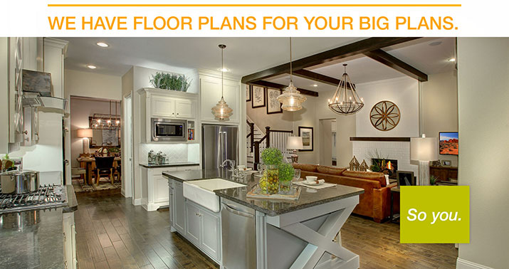Drees model home pictures